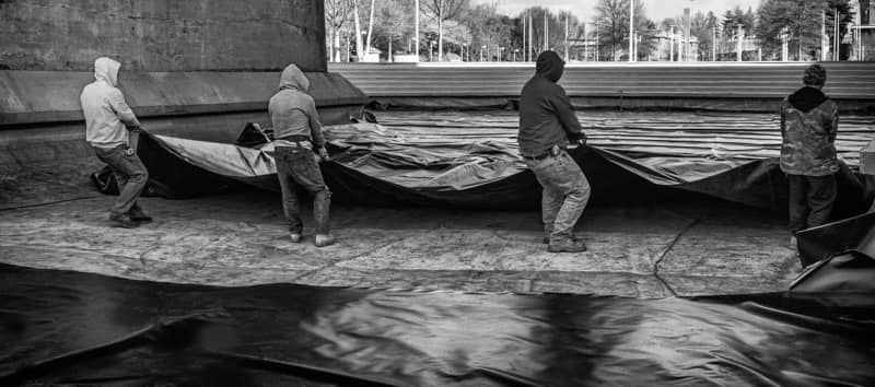 XR Geomembrane Installation | Knoxville, TN