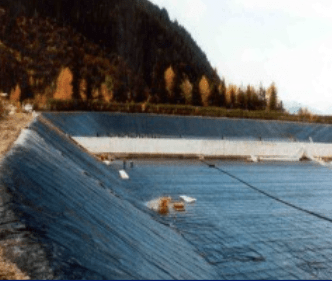 aerated sewage lagoon application