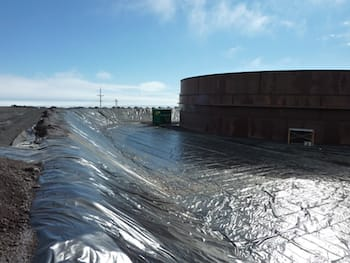 Chemical-Resistant Geomembrane for Secondary Containment