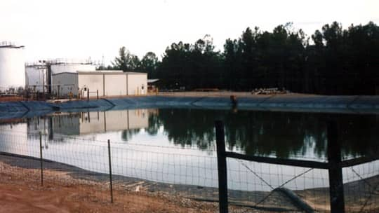 Shell Oil Process Wastewater