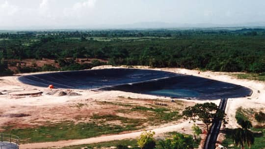 Barcelo Distilleries Process Wastewater