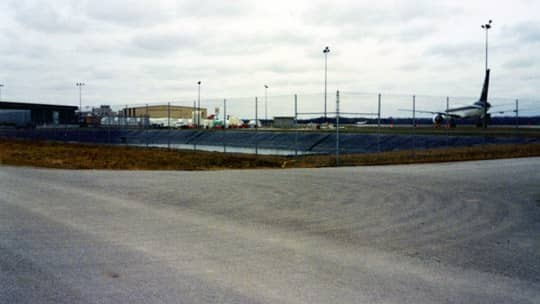 Lansing Regional Airport Deicing Chemical Pond Liners