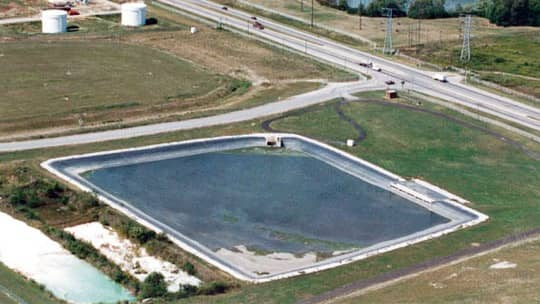General Motors Stormwater Pond Liners