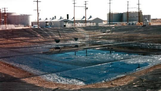 Texas Oilfields Process Wastewater