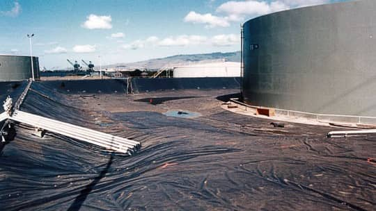 Pearl Harbor Fuel Storage Tanks