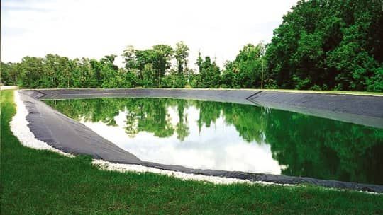 Effluent Holding Pond in Winter Springs, Florida
