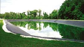 Effluent Holding Pond in Winter Springs, Florida