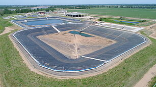 Wastewater Impoundment Liners at Haikey Creek Wastewater Treatment Plant