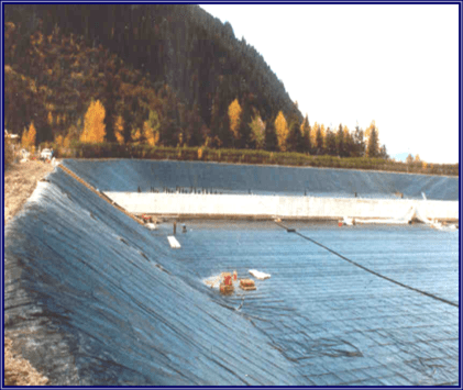 Reinforced Geomembrane Protects Alaska Wastewater Treatment Plant