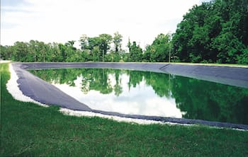 Geomembrane Liner for Wastewater Impoundment
