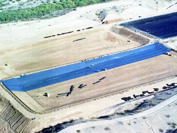 evaporation pond liner