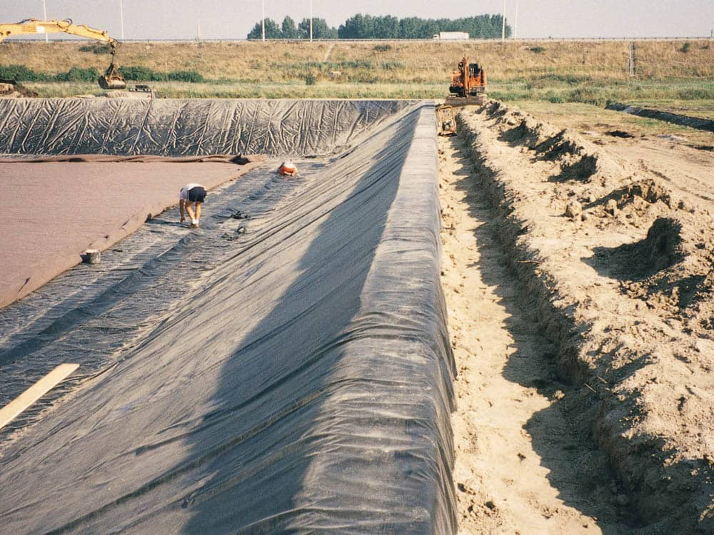 geomembranes for wastewater impoundments