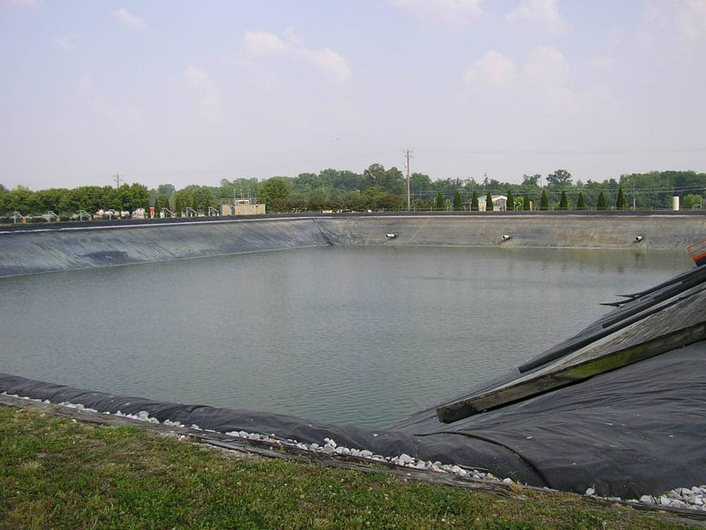 henderson wastewater impoundment geomembrane