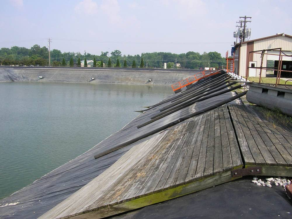wastewater impoundment liner in henderson ky