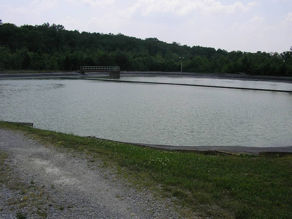 mammoth cave stabilization pond