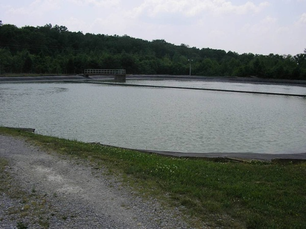 mammoth cave stabilization pond