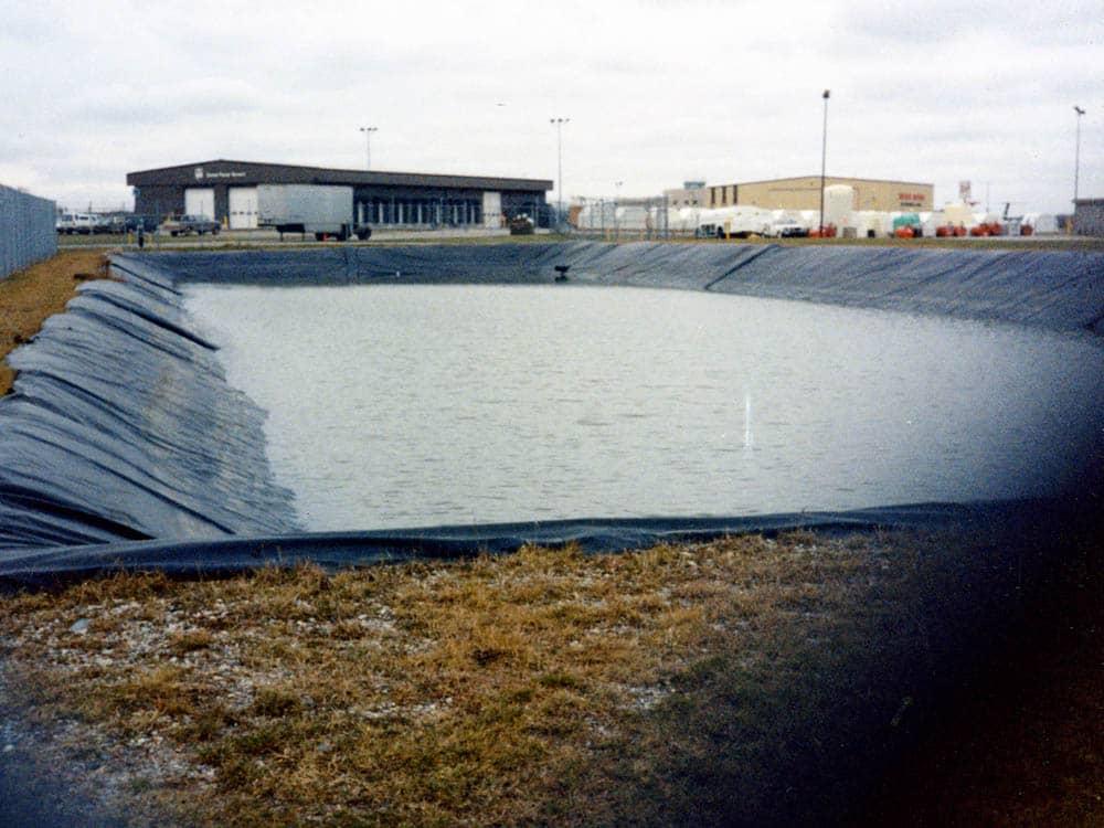 Runoff Pond Geomembrane Liner