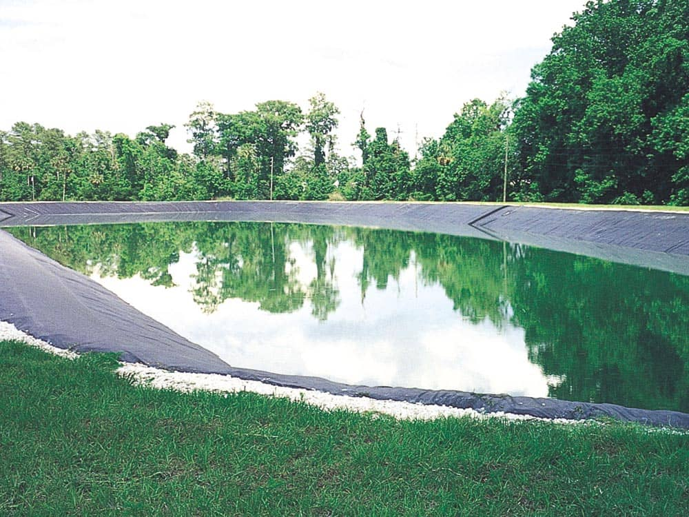 stormwater pond liner
