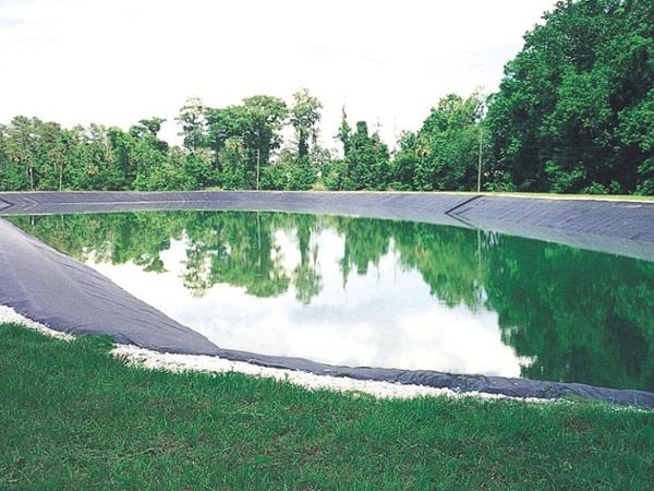 stormwater pond liner