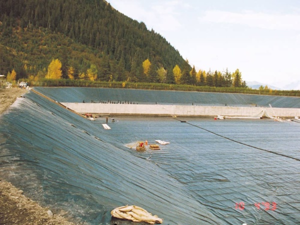 wastewater geomembranes