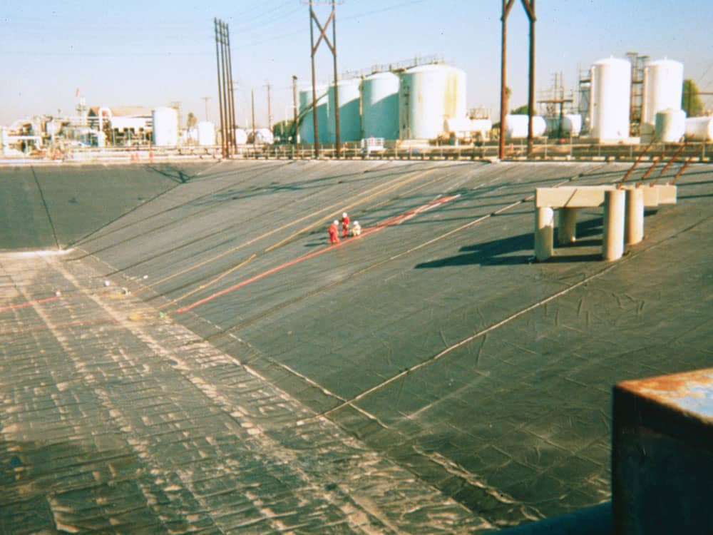 wastewater impoundment liners