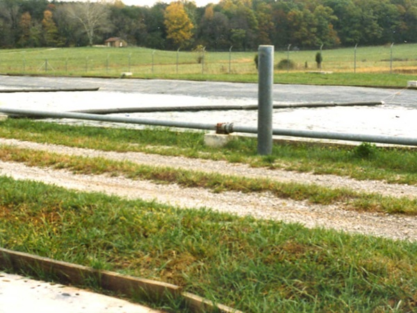 wastewater stabilization pond liner