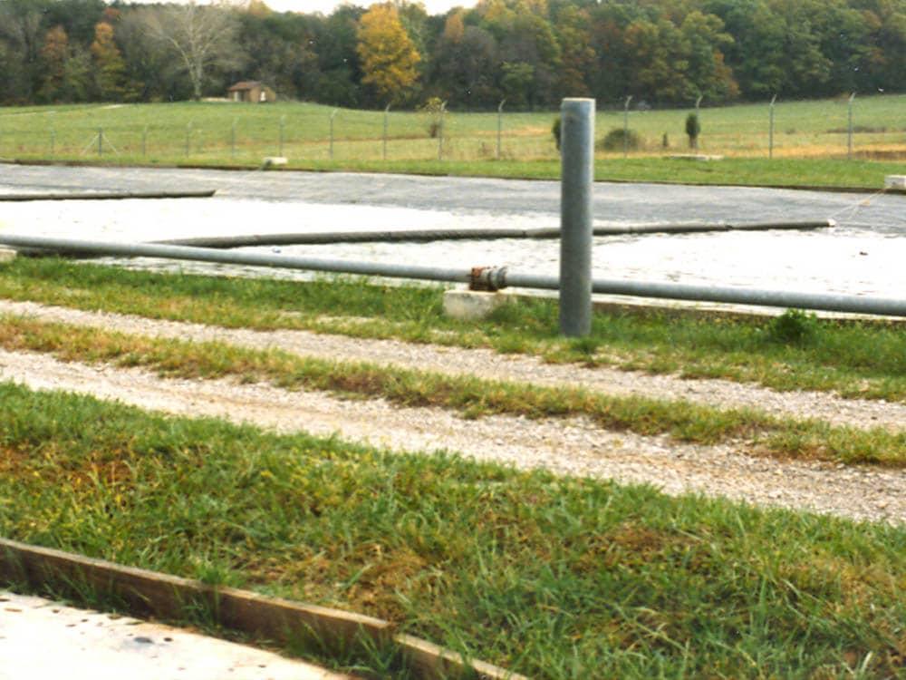 wastewater stabilization pond liner