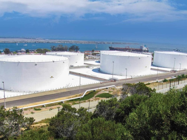 secondary containment for fuel storage tanks