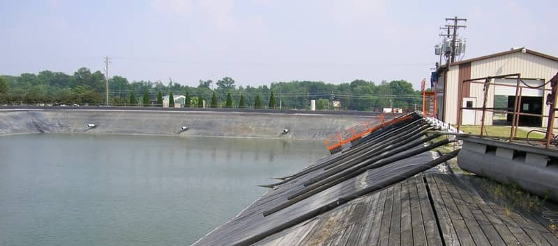 XR Geomembrane Installation | Henderson, KY | May 2007