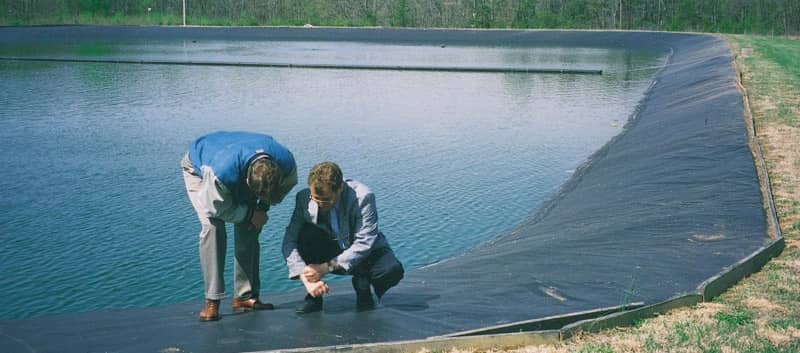 Inspecting an XR Geomembrane