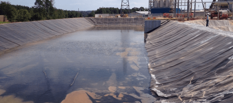 Buried Geomembrane