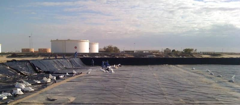 XR Geomembrane Installation in Libya