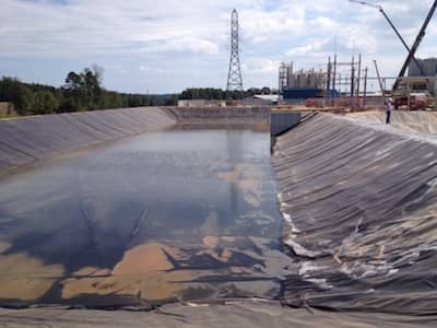 Geomembrane Liner at the American Zinc Recycling Plant in Mooresboro, NC