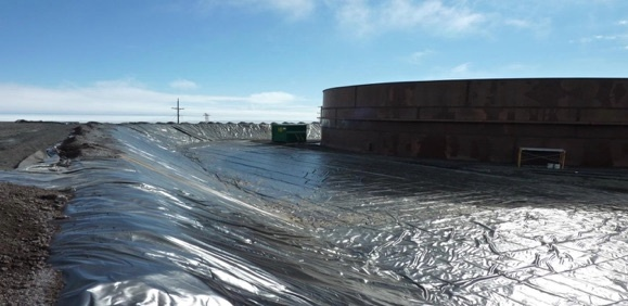 ORLTA Geomembrane Liner Used for Secondary Containment in Antarctica