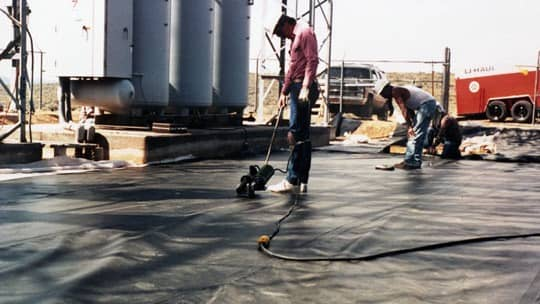substation containment liners