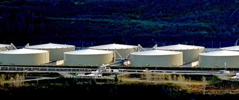 Valdez, AK Tank Farm